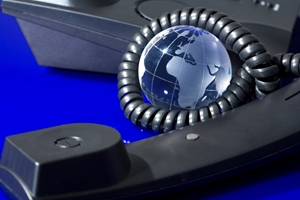 VoIP makes it easier to talk with colleagues or clients around the world.